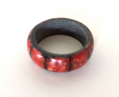 Bague Sumi rouge
