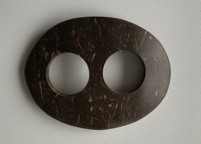 Boucle attache paréos ovale