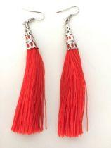 Boucles Quaoi rouge