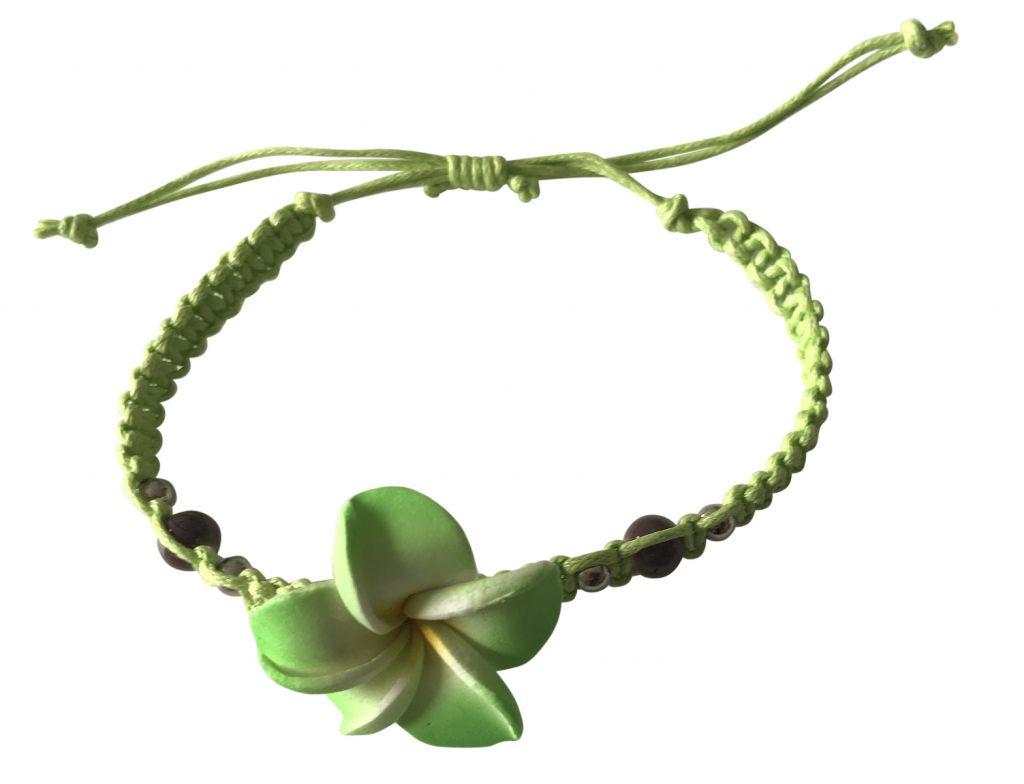 Bracelet coulissant vert