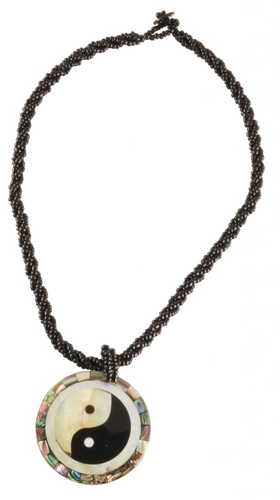 Collier ethnique Yin Yang
