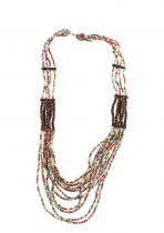 Collier holidays multicolore