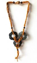 Collier meno orange
