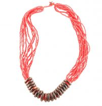 Collier sunlight rouge