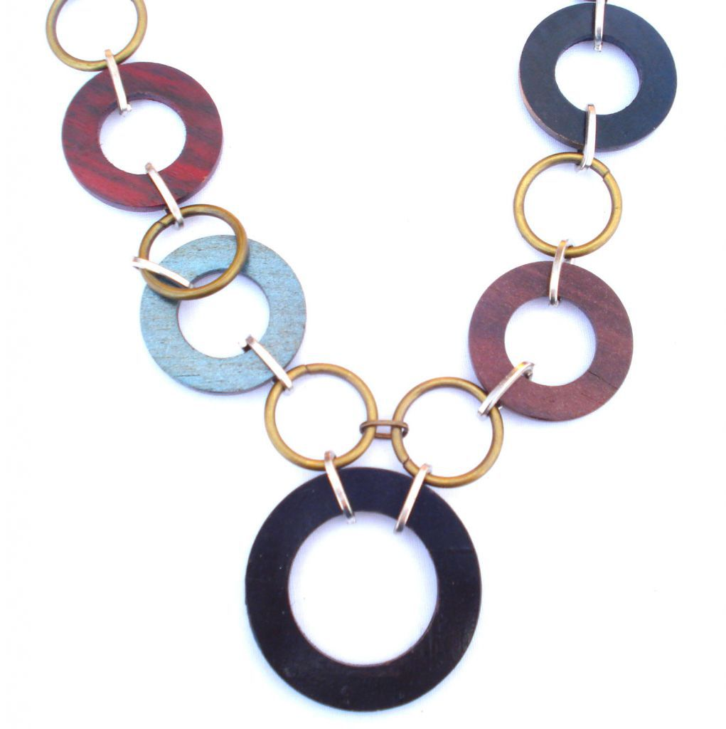 Collier Tendance Rouge Bali