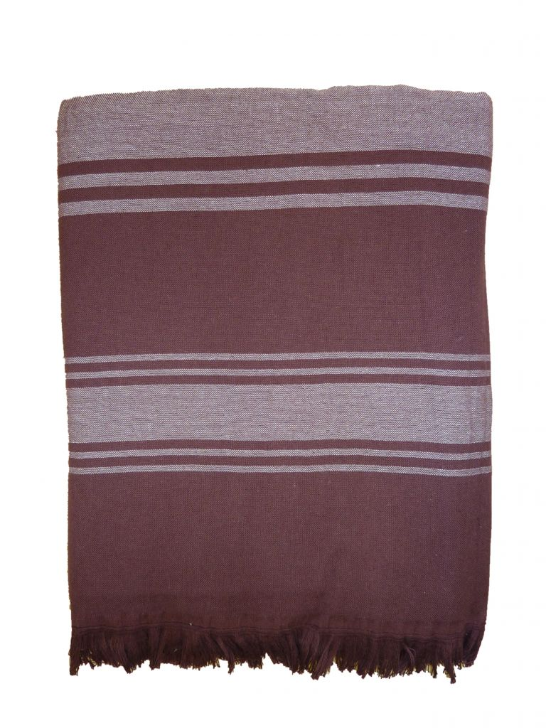 fouta plage marron. Black Bedroom Furniture Sets. Home Design Ideas