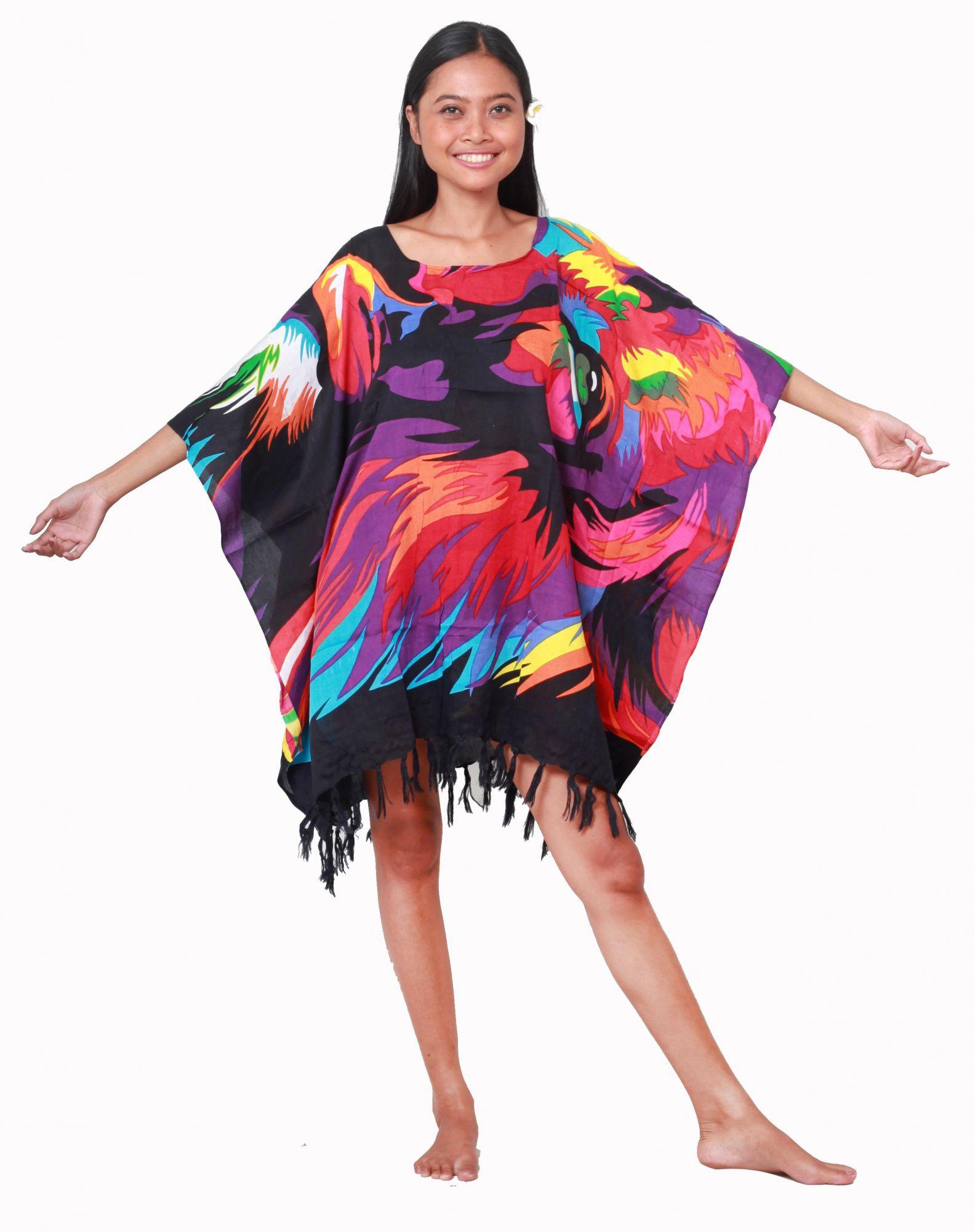 Grande robe paréo Lion