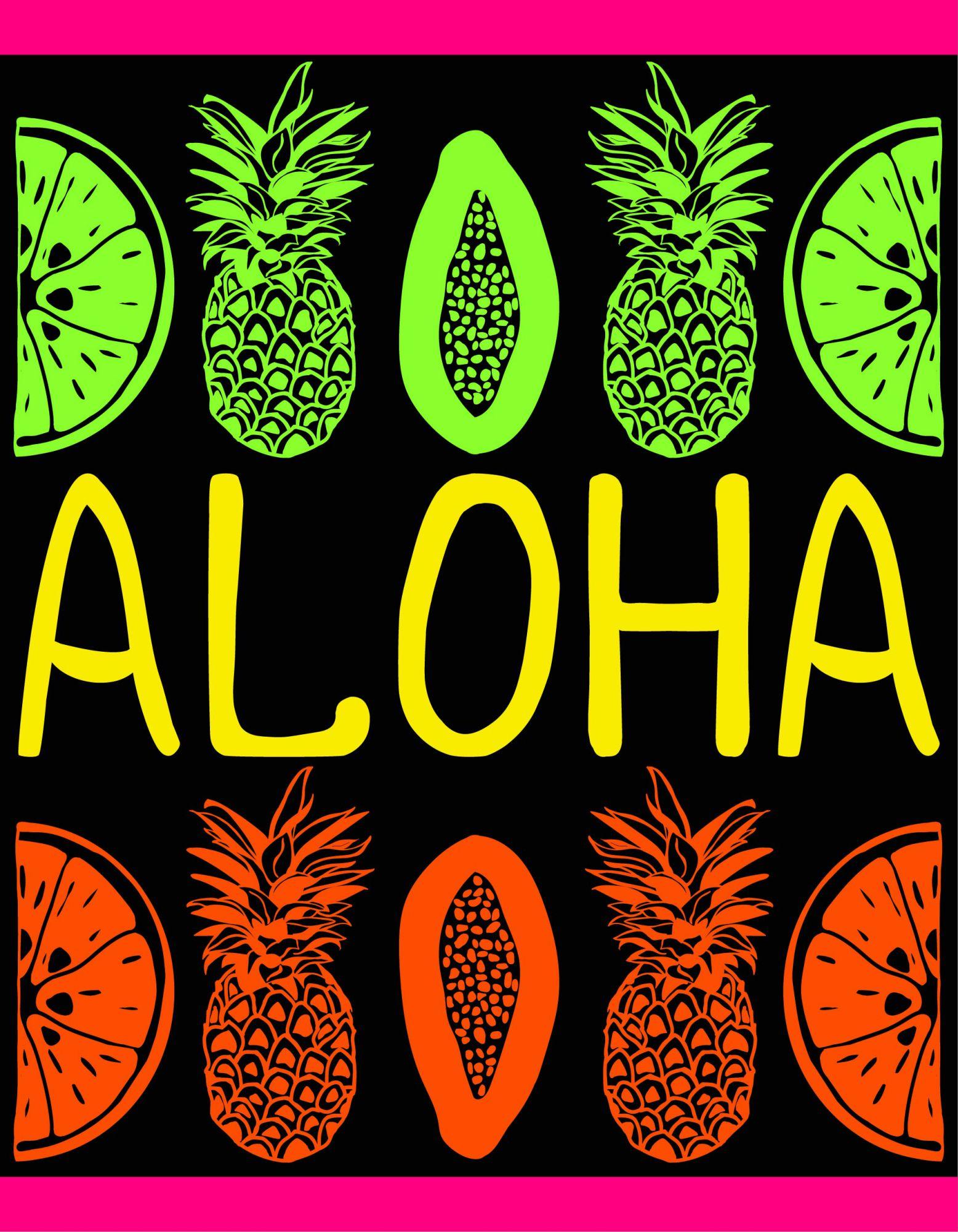 Grande Serviette  Aloha