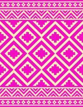 Grande serviette de plage cristal rose