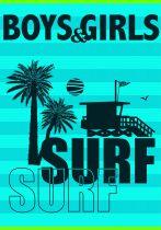 Grande serviette de plage surf montanita