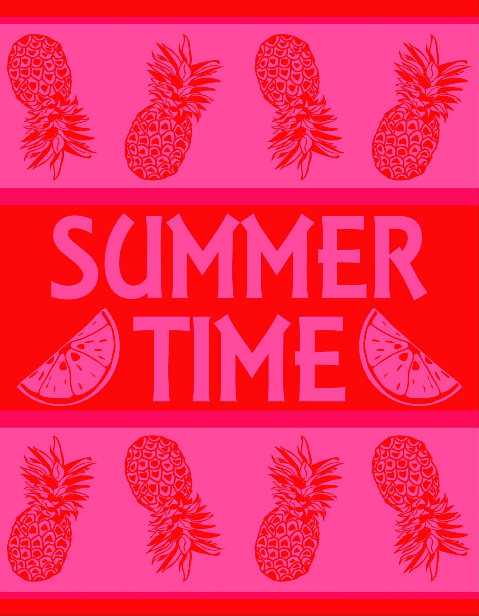 Grande serviette summer time