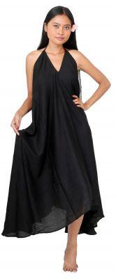 Longue robe d\'été noir