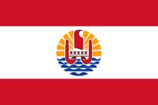 Paréo drapeau Polynésien