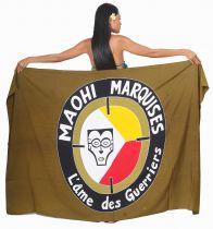 Paréo Maohi Marquises