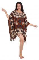 Paréo robe souple Gange marron