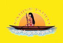 Paréo Vahine Tahiti jaune