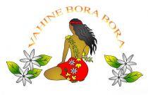 Paréos Bora Bora Vahine blanc