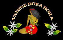 Paréos Bora Bora Vahine noir