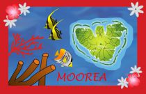 Paréos drapeau Morea rouge