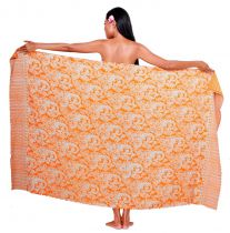 Paréos Malia orange + boucle