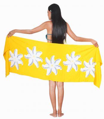 Petit paréo Bora Bora jaune