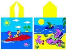 Poncho enfant Holydays pour la plage ou la piscine.