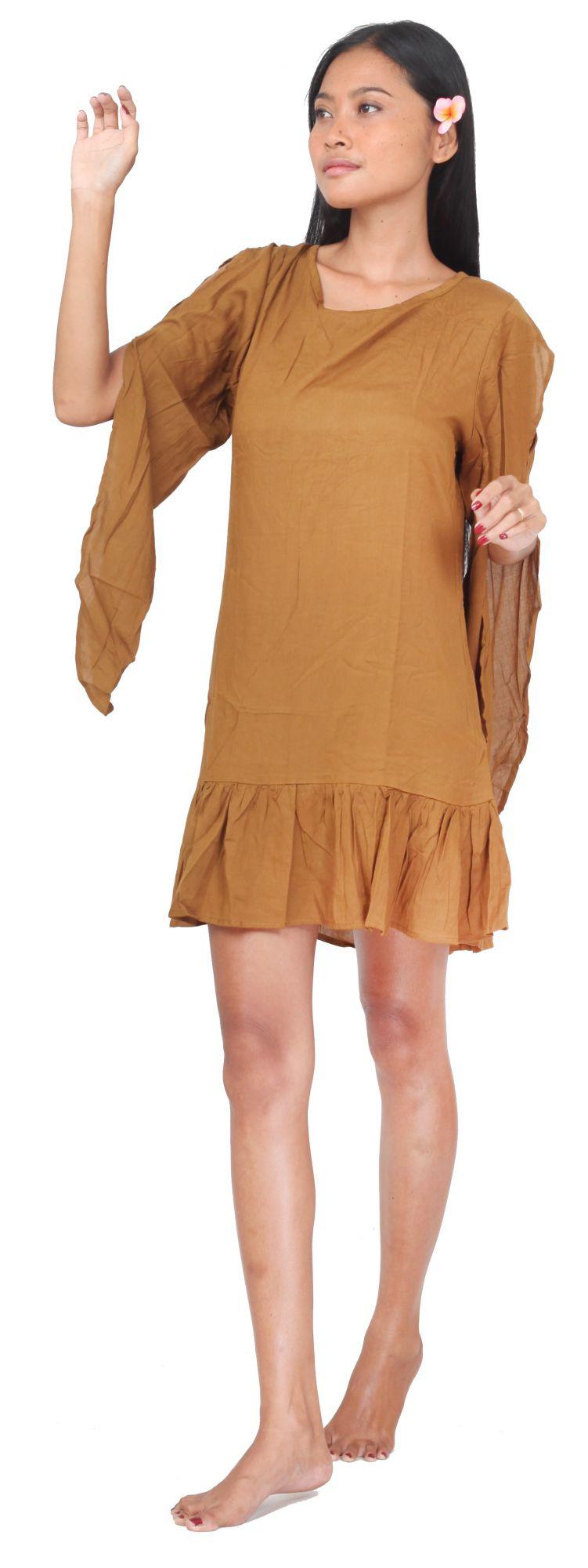 Robe d\'été légère beige