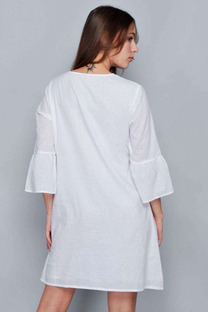 Robe de plage blanche Biarritz