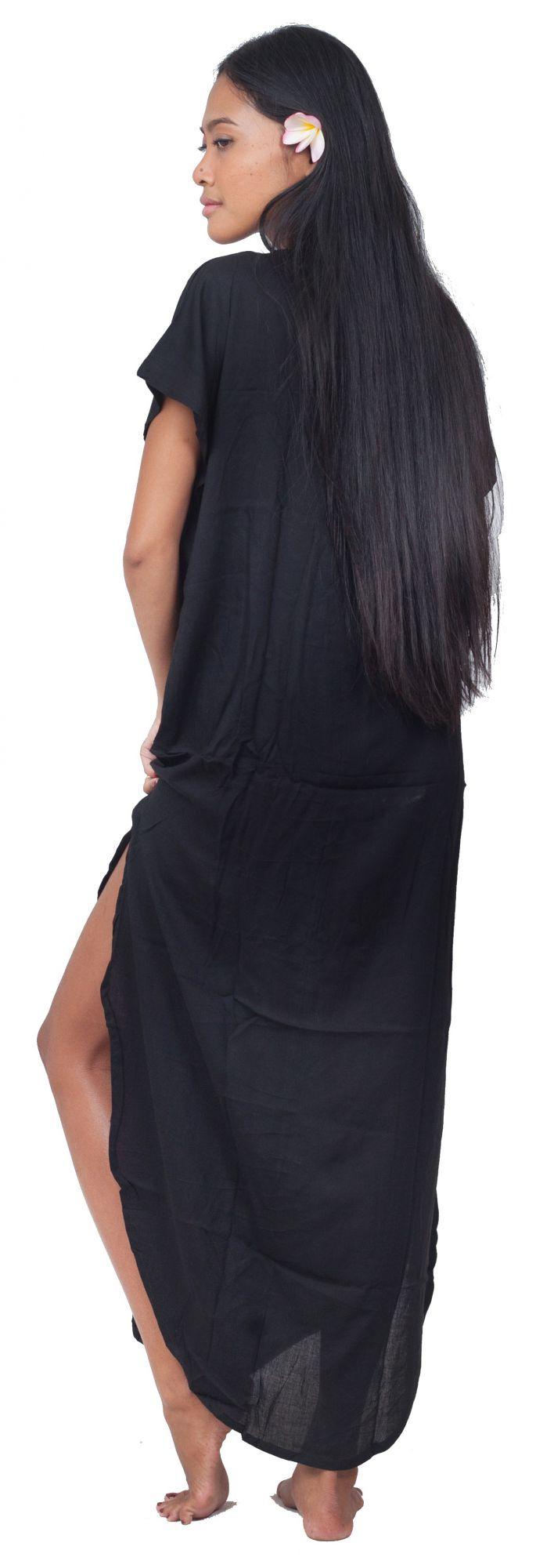 Robe de plage Lucia noir