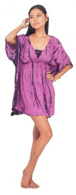 Robe de plage Margaretta violet