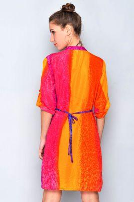 Robe de plage Tie-dye