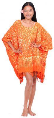Robe paréo batik Sofia orange