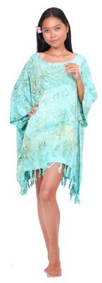 Robe paréo batik Sofia vert