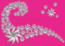 Robe paréo Etoile rose