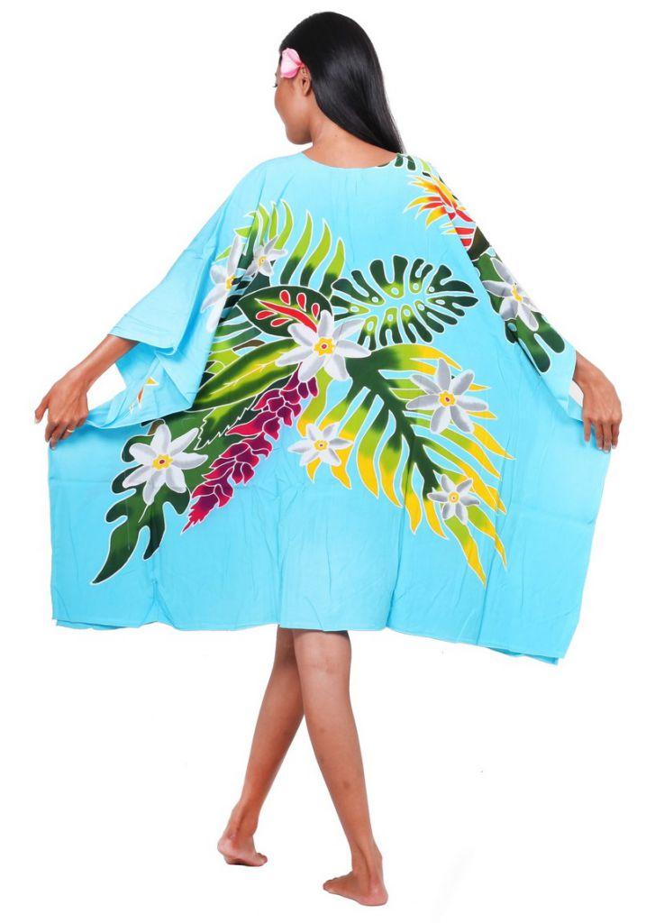 Robe paréo Indien bleu turquoise