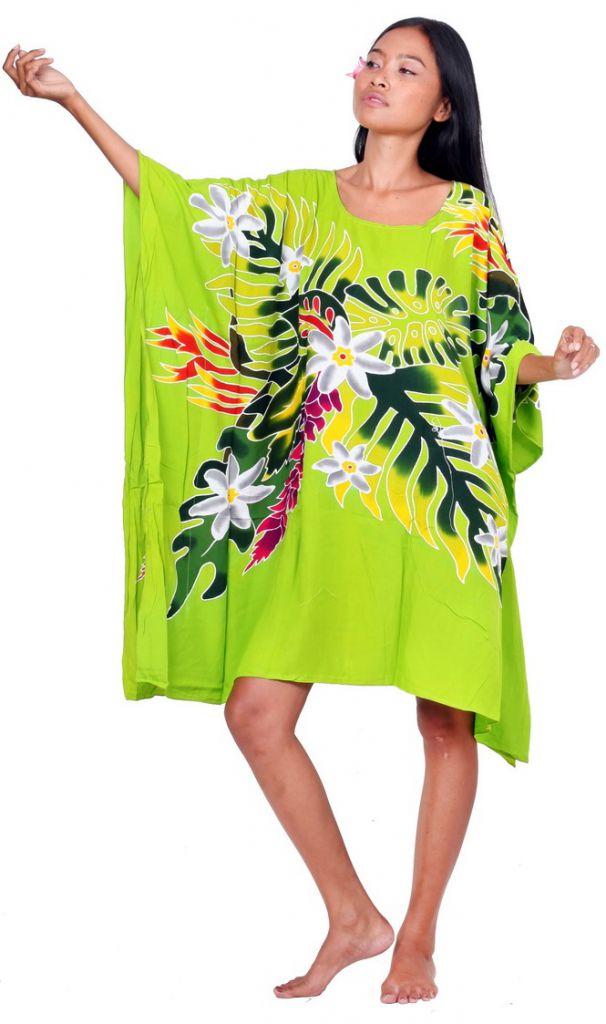 Robe paréo Indien vert