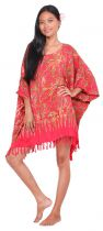 Robe paréo Lagos rouge
