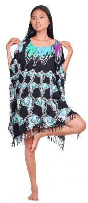 Robe paréo papillon Bali Bleu