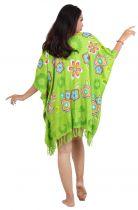 Robe paréo souple Love vert