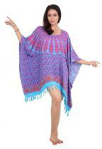 Robe paréo souple sarong violet