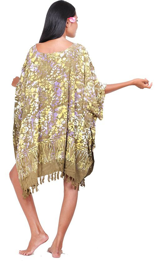 Robe paréos Kumasi beige