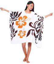 Robe paréos Printemps Blanc