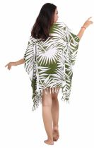 Robe paréos souple jungle vert foncé