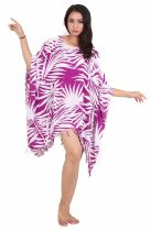 Robe paréos souple jungle violet