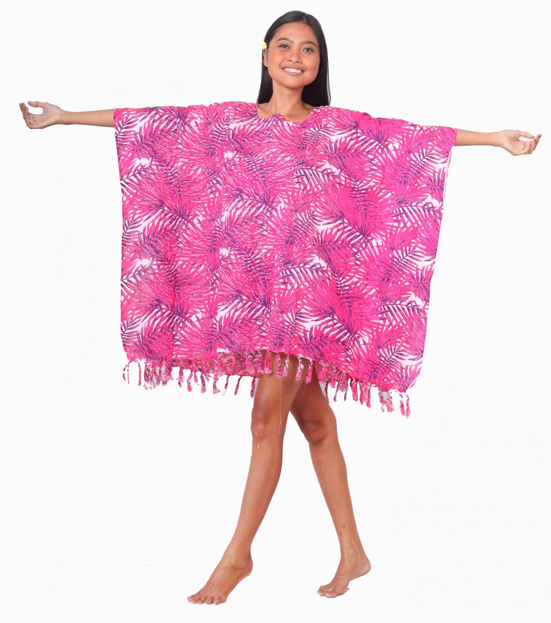 Robe Paréos St Tropez rose