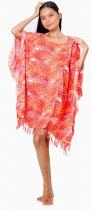 Robe Paréos St Tropez rouge