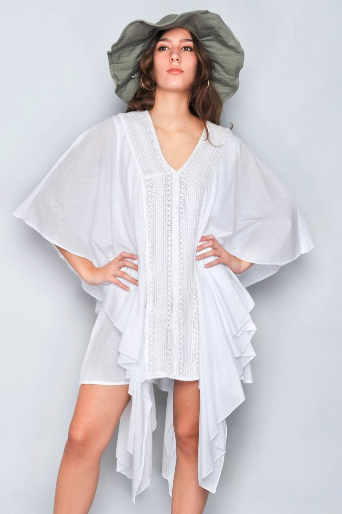 Robe Soiree Blanche Bali