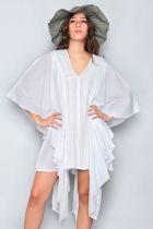 Robe soirée blanche Bali