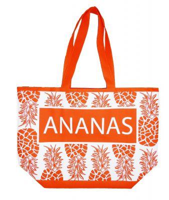 Sac de plage Ananas orange