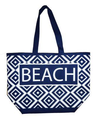 Sac de plage Beach bleu marine
